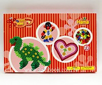 幼兒大拼豆創作組合:猴子、恐龍、愛心(1cm)(大拼豆清倉)現貨:1