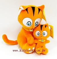 貓咪玩偶(母與子)橘貓