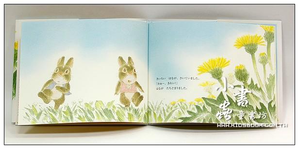 內頁放大:小兔子小風、小花和蒲公英 <親近植物繪本>