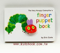 THE VERY HUNGRY CATERPILLAR,S FINGER PUPPET BOOK 手指偶數數書