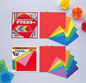 內頁放大:日本色紙:雙面單色色紙(8色調24枚)