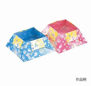 內頁放大:日本色紙:雙面花紋色紙(4色調32枚)