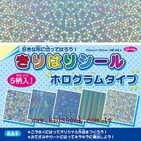 日本色紙:晶彩變色貼紙(撕不破)