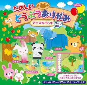 內頁放大:日本摺紙材料包:可愛動物(大象、貓熊、小兔子、狸貓、小鳥、鴿子6款作品)(中級)現貨數量>5