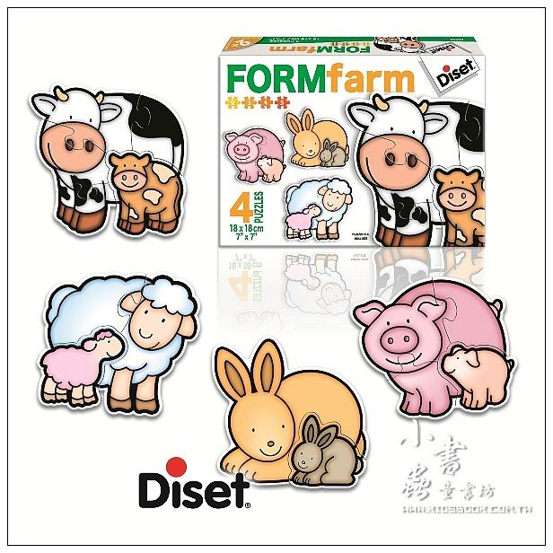 內頁放大:西班牙寶寶拼圖–動物媽媽和寶寶(2.3.4.5pcs)