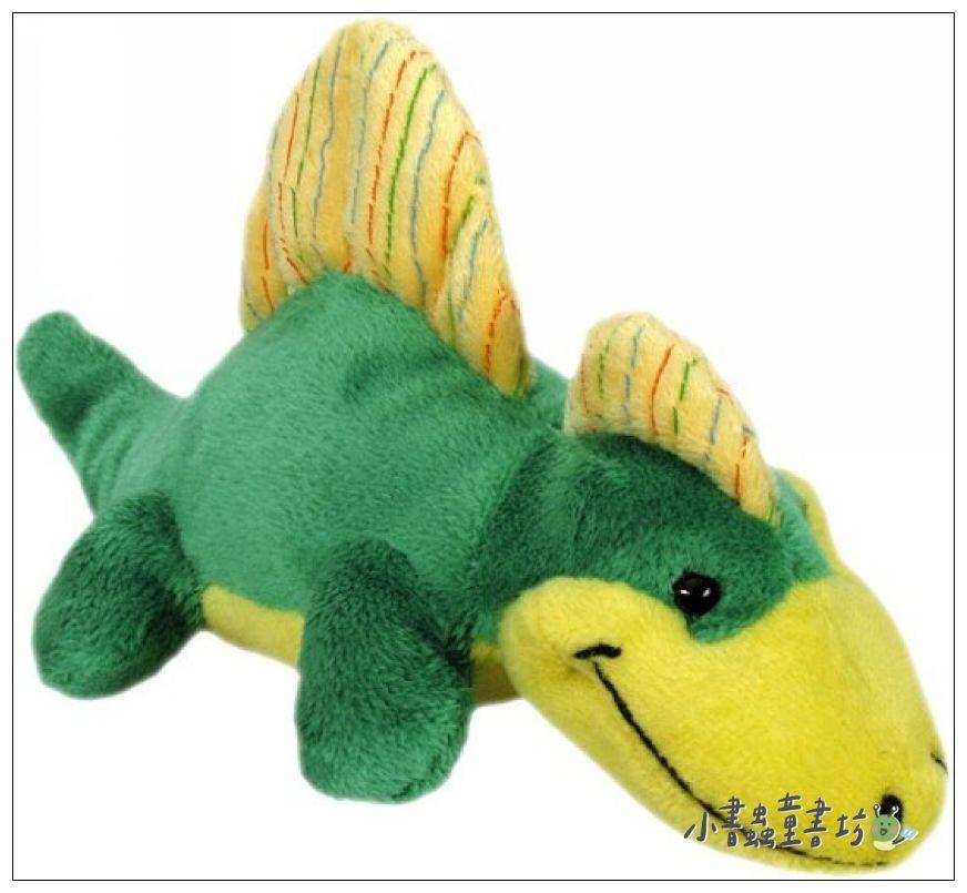 內頁放大:雙冠龍:魔術水絨毛玩具(恐龍系列)現貨數量:1