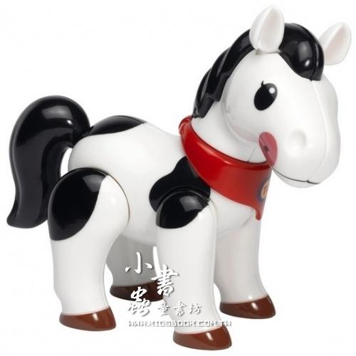 內頁放大:小馬(黑白):TOLO動物公仔(現貨數量:2)絕版品