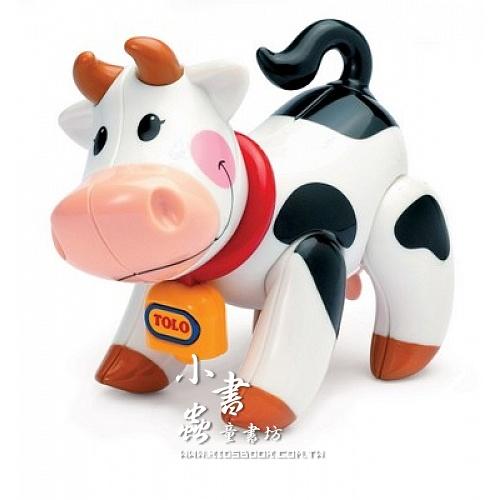 內頁放大:小牛:TOLO動物公仔(現貨數量:1)絕版品
