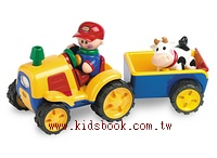 TOLO:男生.牽引機和牛