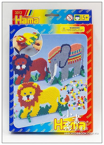 內頁放大:主題樂園包─大象、獅子