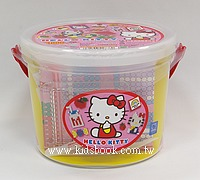 Hello Kitty:拼拼豆豆組合桶(Perler)