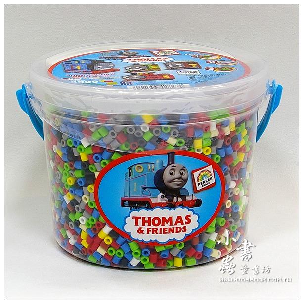 內頁放大:Thomas 湯瑪士小火車:拼拼豆豆組合桶(Perler)