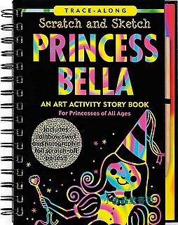 刮畫書:Princess Bella(公主)現貨數量:1