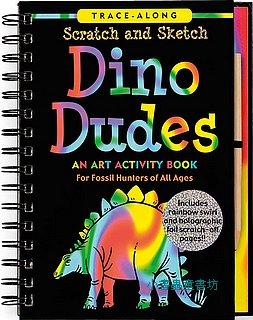 刮畫書:Dino Dudes(恐龍)現貨數量:1