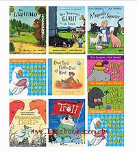 Julia Donaldson 精選故事套組(含10本書) + 贈品(波比貓的家 Poppy Cat's Play House)