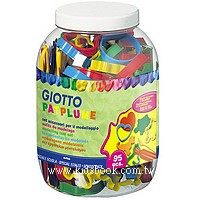 義大利 GIOTTO:黏土工具組(桶裝95件)