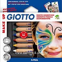 義大利 GIOTTO:兒童彩妝筆(基本色)