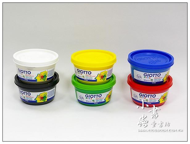內頁放大:義大利GIOTTO:手指膏(6色) 100ml