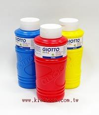 義大利GIOTTO:手指膏750ml 黃紅藍 (3合1)