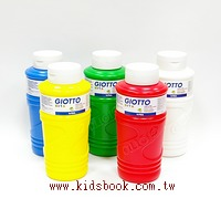 義大利GIOTTO:手指膏750ml 5合1