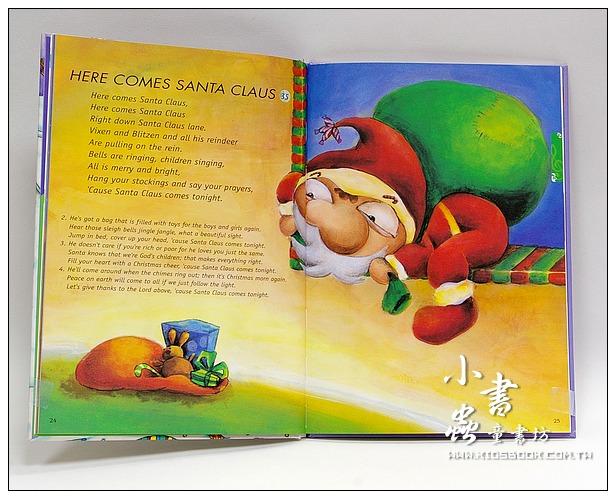 內頁放大:WEE SING英語童謠7:歡慶耶誕唱童謠WEE SING FOR CHRISTMAS(書+CD)絕版書