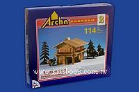 捷克Archa建築積木─波希米亞小木屋(組合2)