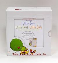 Little Pea+ Little Hoot+ Little Oink