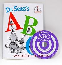 蘇斯博士:Dr.Seuss,s A B C(平裝書+CD)