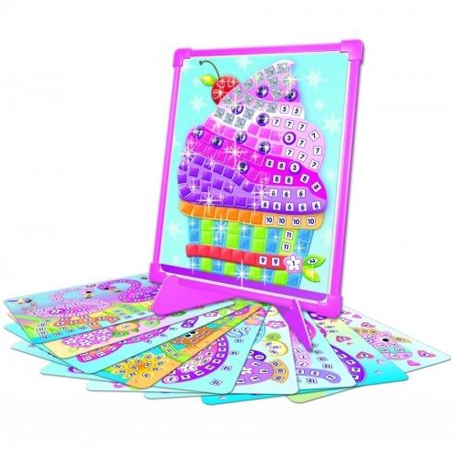 內頁放大:磁鐵馬賽克拼貼─寶石篇 初級(4歲以上)