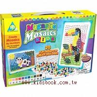 磁鐵馬賽克拼貼─進階(5歲以上)