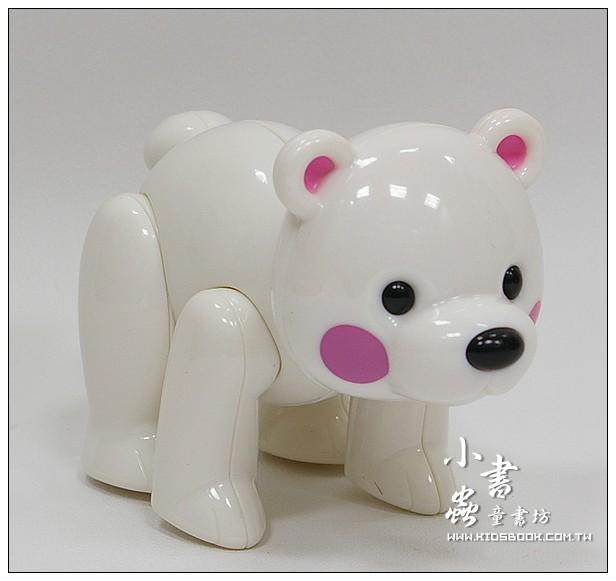 內頁放大:北極熊:TOLO動物公仔(現貨數量:1)絕版品