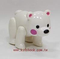 北極熊:TOLO動物公仔(現貨數量:1)絕版品