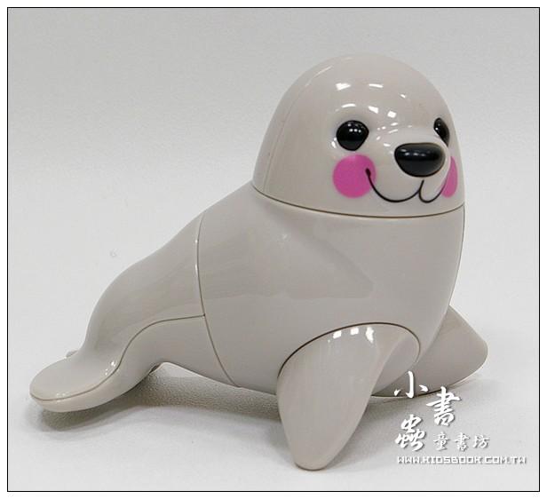 內頁放大:海豹:TOLO動物公仔(現貨數量:1)絕版品