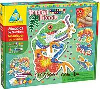 熱帶動物:馬賽克拼貼禮盒組(現貨數量:1)(特價出清 )