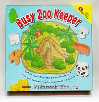 動物管理員(busy zoo keeper)