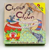小丑馬戲團(Circus Clown)(加贈收納小布袋)