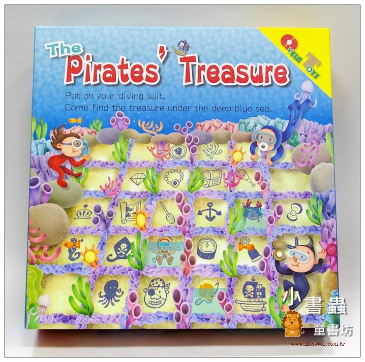 內頁放大:海底尋寶(The Pirates' Treasure)(加贈收納小布袋)(樣品出清)現貨:1