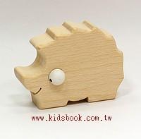 刺蝟:可愛原木動物