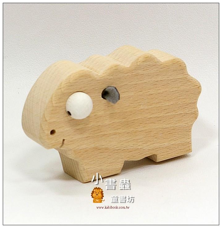 內頁放大:小綿羊:可愛原木動物