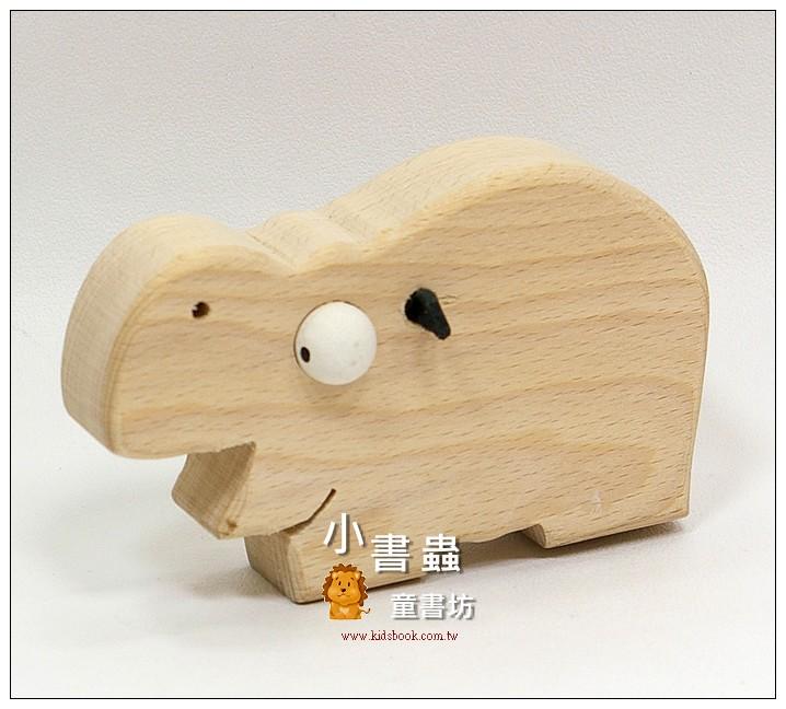 內頁放大:河馬:可愛原木動物