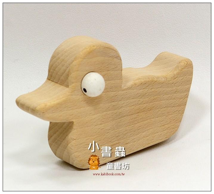 內頁放大:鴨鴨:可愛原木動物