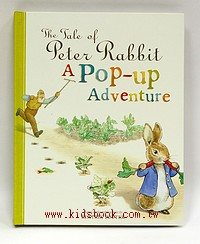 THE TALE OF PETER RABBIT: A POP-UP ADVENTURE (彼得兔)立體書