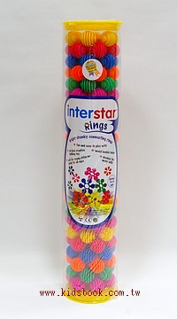 24pcs星球圓圈:interstar 建構