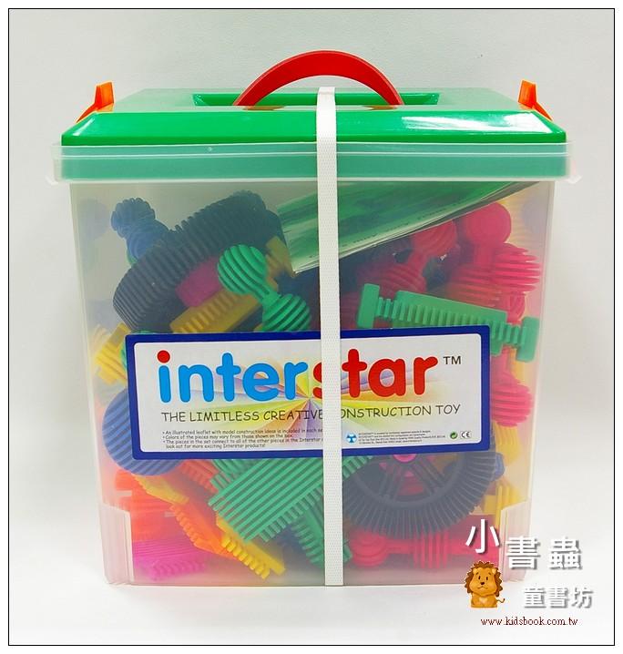 內頁放大:100pcs百寶箱:interstar 建構