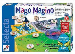 超級魔法師(Mago Magino):德國家庭益智遊戲