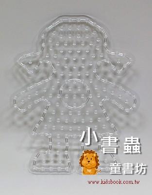 女孩透明模板:大豆豆模板