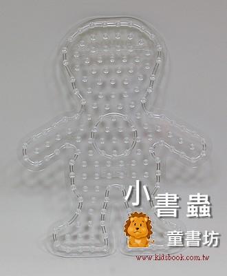 男孩透明模板:大豆豆模板