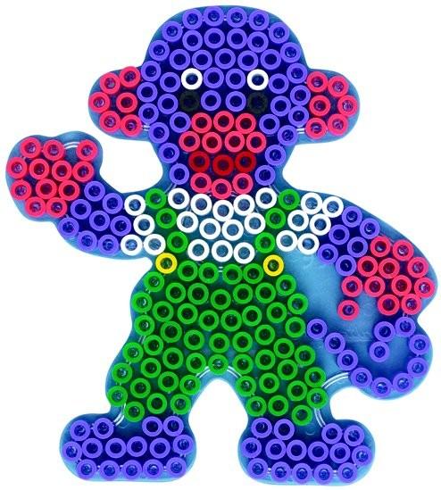 內頁放大:猴子透明模板:大豆豆模板