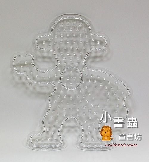猴子透明模板:大豆豆模板
