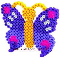 蝴蝶透明模板:大豆豆模板